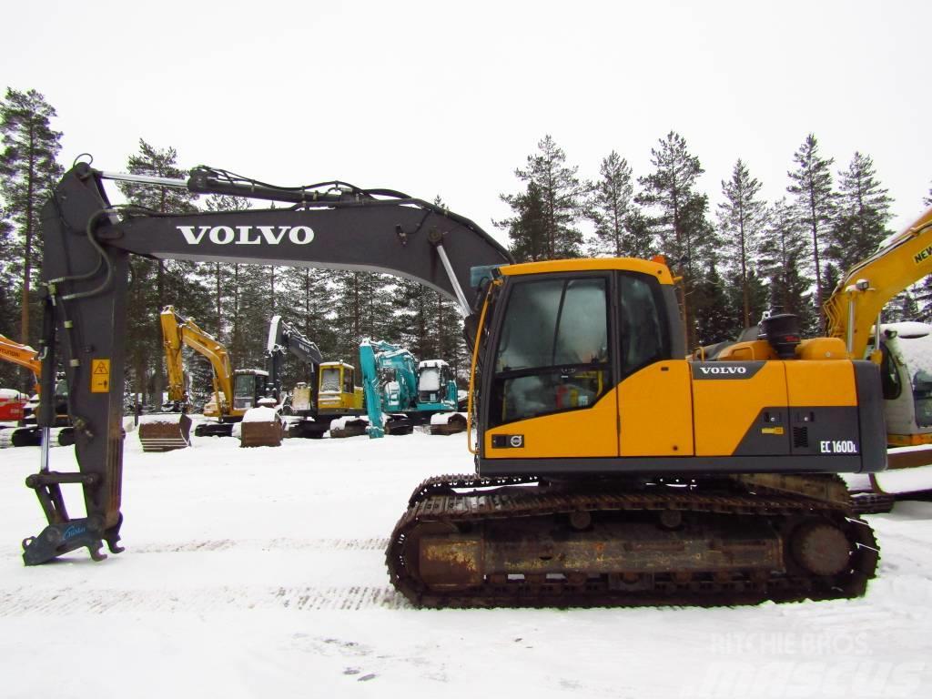 Volvo EC160DL PIKALIITIN, HUOLLETTU