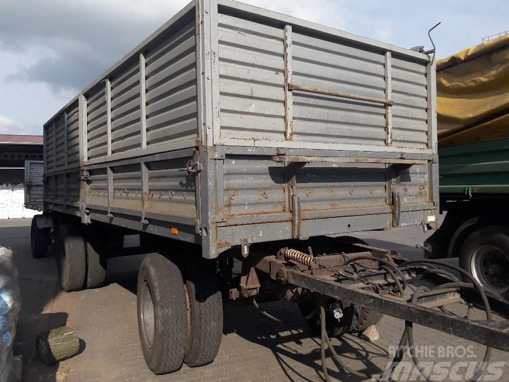 Autosan D-83 przyczepa ciężarowa sztywna