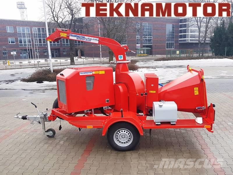 Teknamotor Skorpion 250 SDT (wood chipper) PRODUCER
