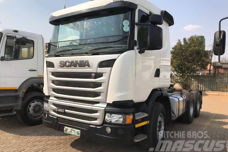 Scania 2015 Scania G460
