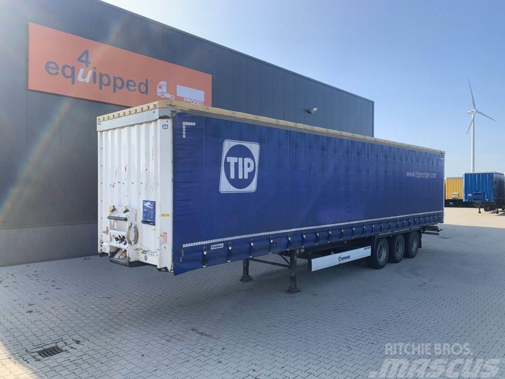 Krone 2.80m int. height, BPW+drumbrakes, NL-trailer, 2x