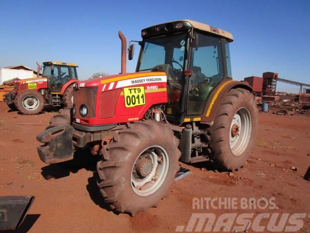 Massey Ferguson Dyna-4, MF 5460 CAB 4x4 Tractor