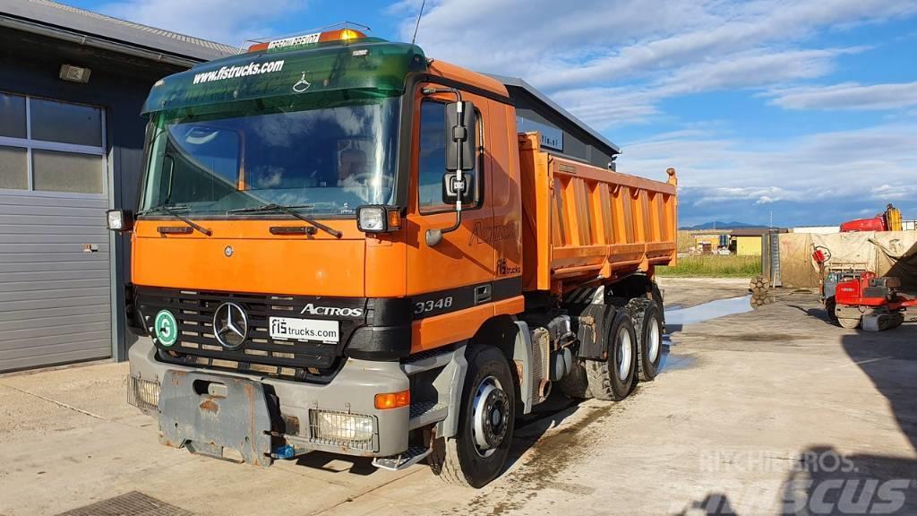 Mercedes-Benz ACTROS 3348 K MEILLER TIPPER