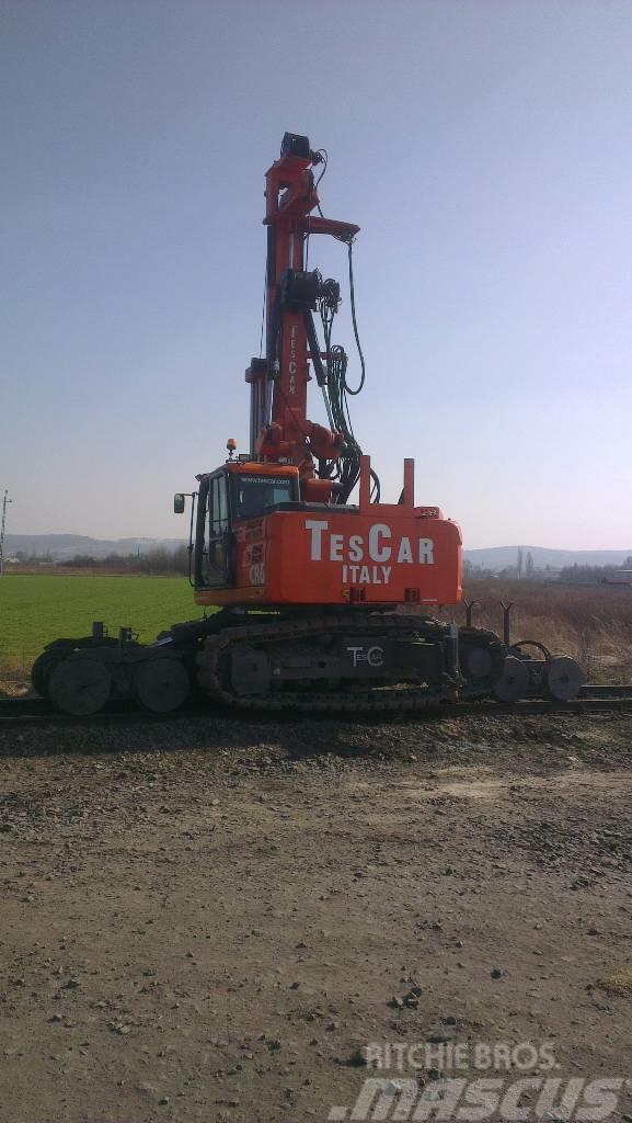Tescar CR6  ferrovia