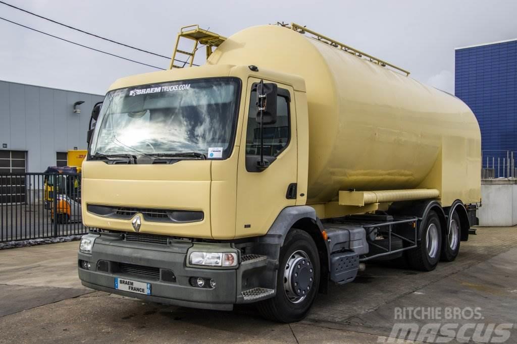 Renault PREMIUM 300 - 6X2 - 10 PNEUS + SILO