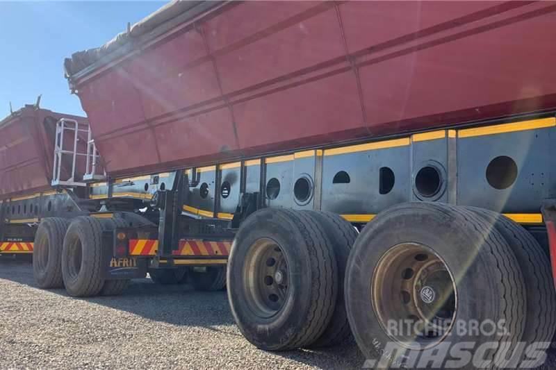 Afrit 2013 Afrit 40m3 Interlink Side Tipper Trailer