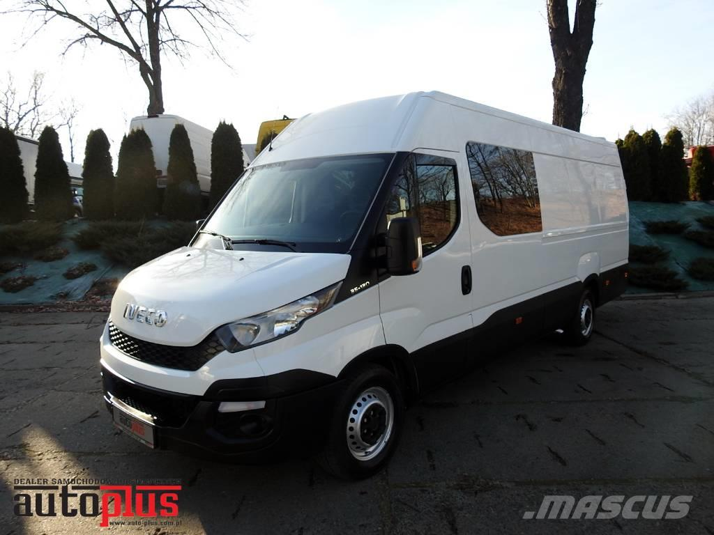Iveco DAILY 35S13 VAN DOUBLECABIN 7 SEATS TEMPOMAT