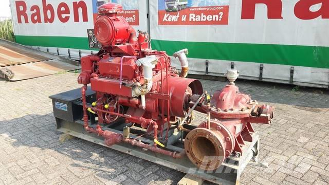 Used Worthington 171 m3/h waterpumps Year: 1983 for sale