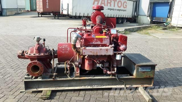 Used Worthington 171 m3/h waterpumps Year: 1983 for sale