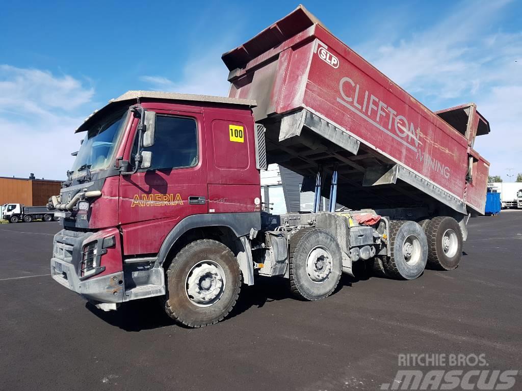 Volvo FMX 540 8x4  48T