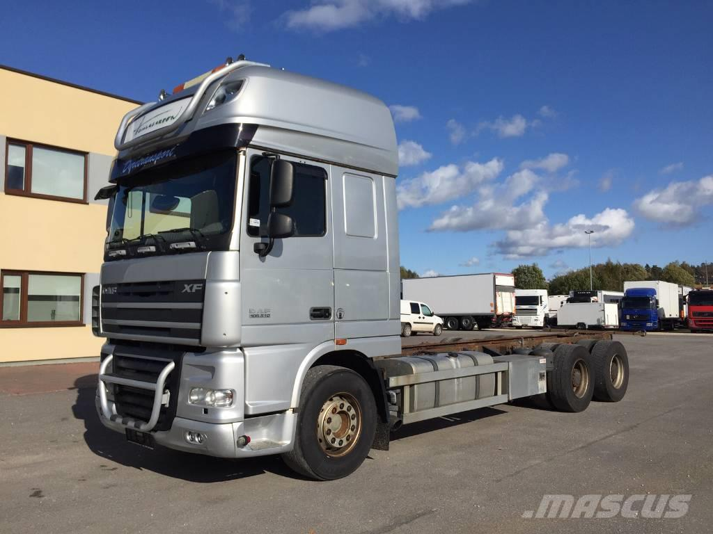 DAF XF105.510 6x4+MANUAL+RETARDER+BIG AXLES