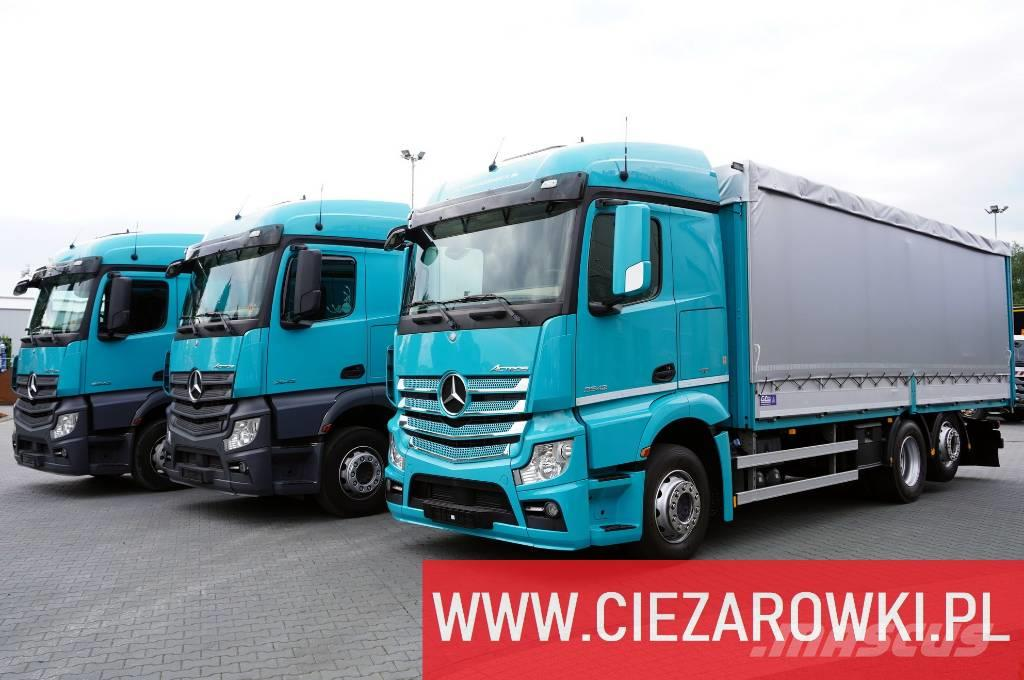 Mercedes-Benz Actros 2542 , for Steel transport , E6 , 6x2