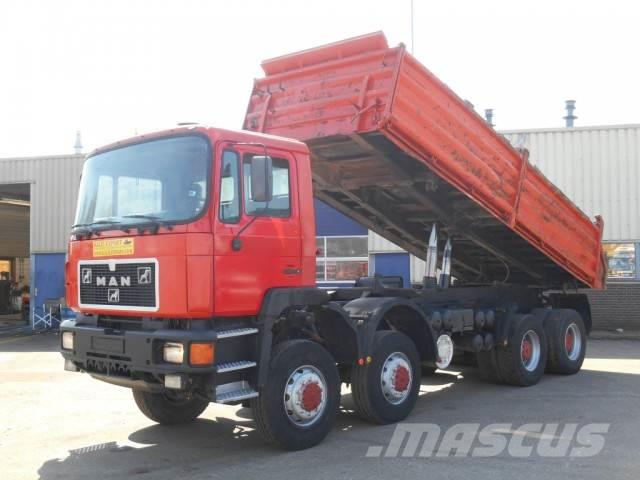 MAN 35.372 Kipper 8x8 Good Condition