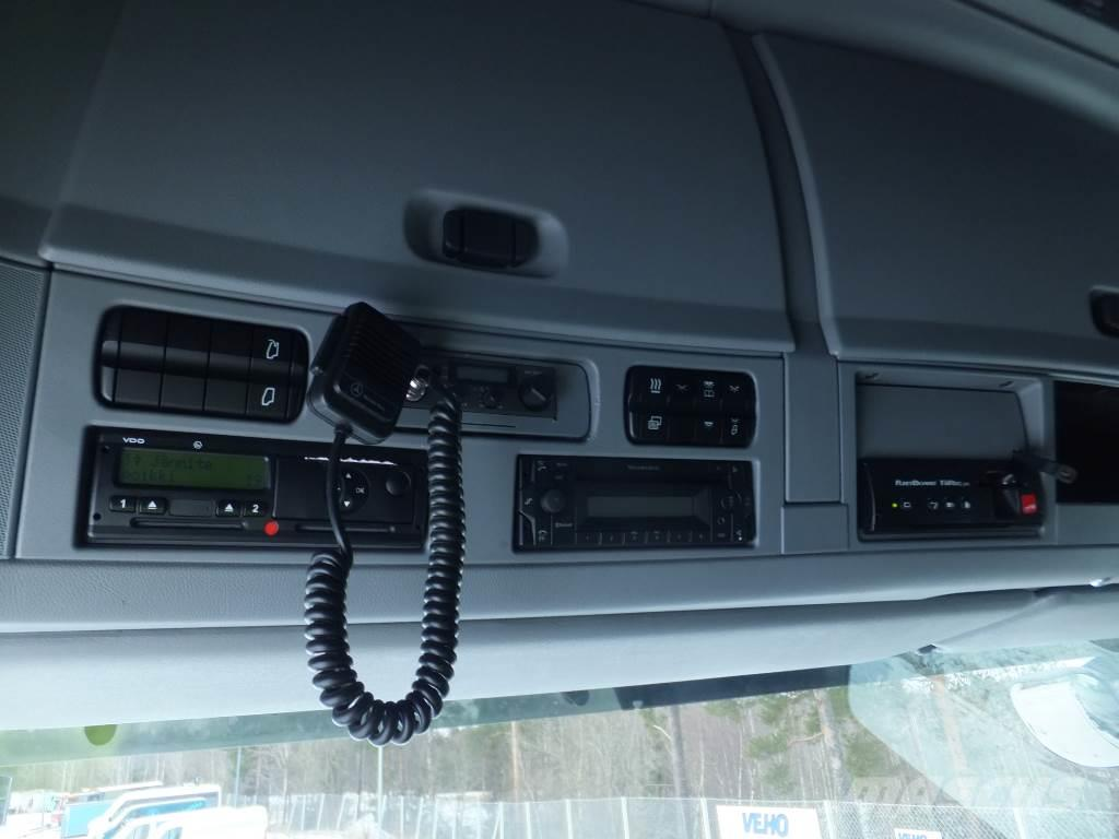 Mercedes-Benz Actros 2555L 6x2/4 FNA Kokosivuaukeva+PL, 2013, Skåpbilar Kyl/Frys/Värme