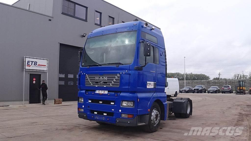 MAN TGA 18.460 (MANUAL PUMP / MANUAL GEARBOX)