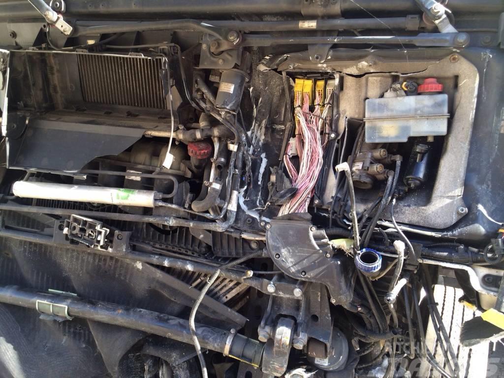 MAN TGA 26.400, 6X2 Abroller Motor
