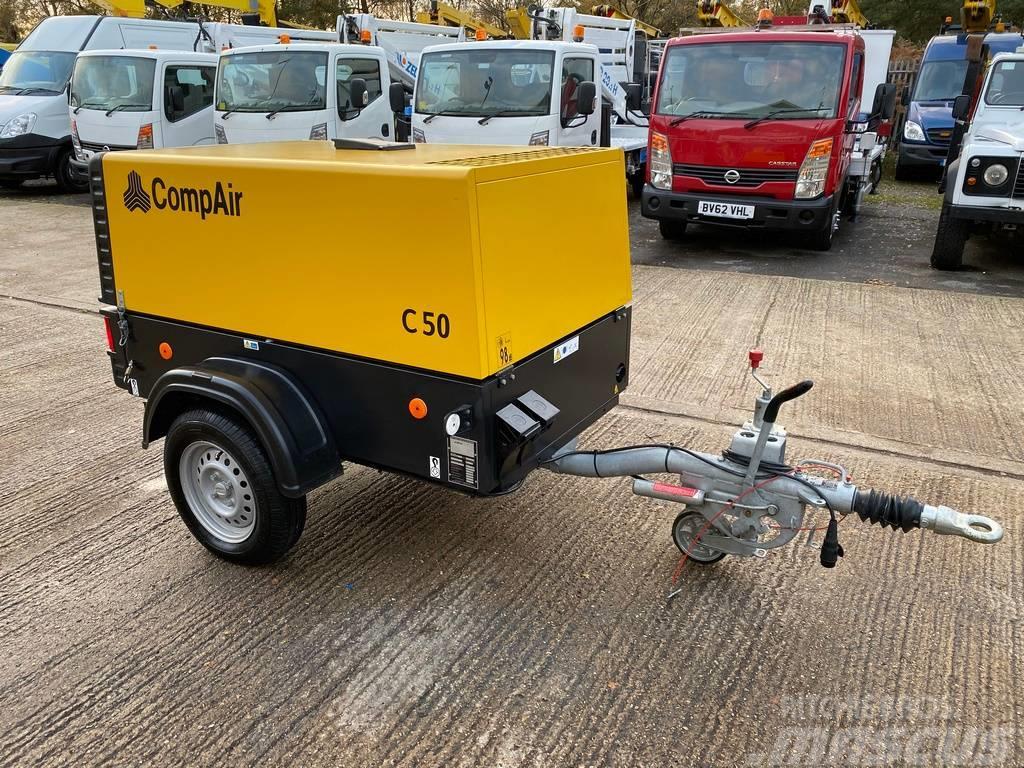 Compair C50 ROAD TOWABLE COMPRESSOR