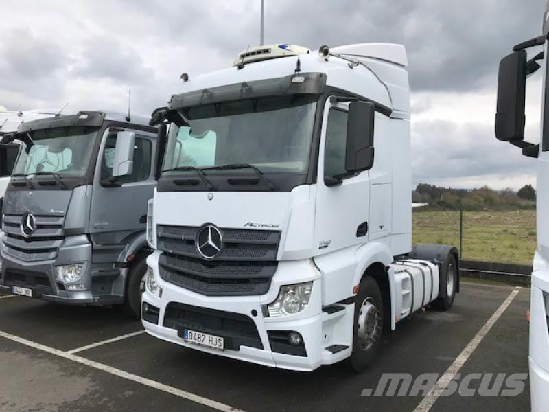 Mercedes-Benz Actros 1842 LS, 2012, Autotractoare