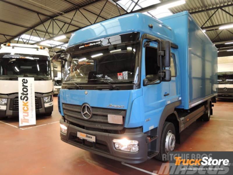 used mercedes benz atego neu verteiler 1221 l box trucks. Black Bedroom Furniture Sets. Home Design Ideas