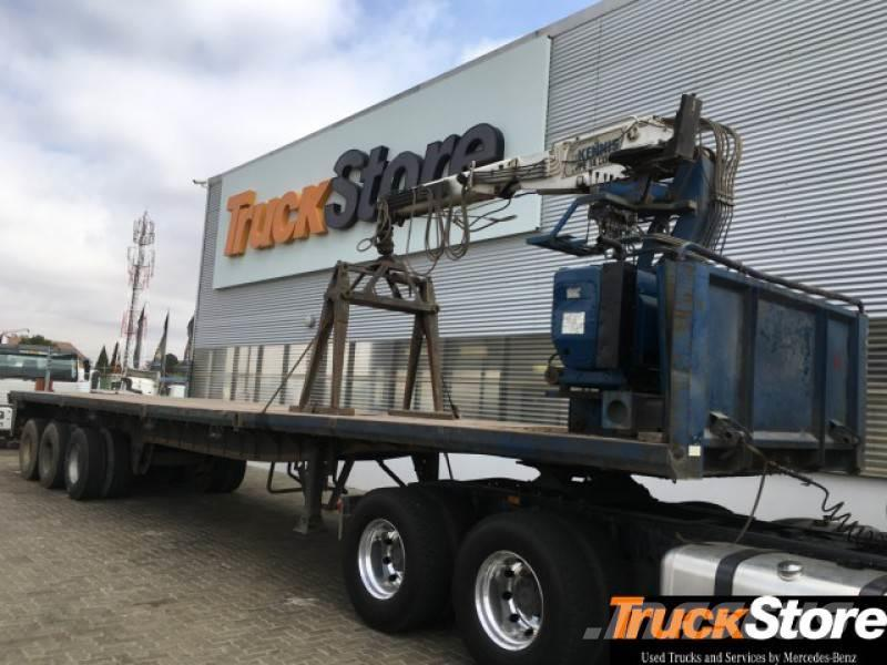 Sa Truck Bodies Crane Trailer 2005 South Africa Used Curtainsider Trailers Mascus Usa
