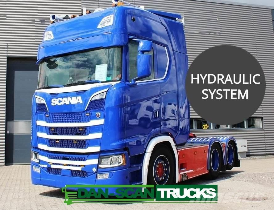 Scania S580 hydr. 2950mm