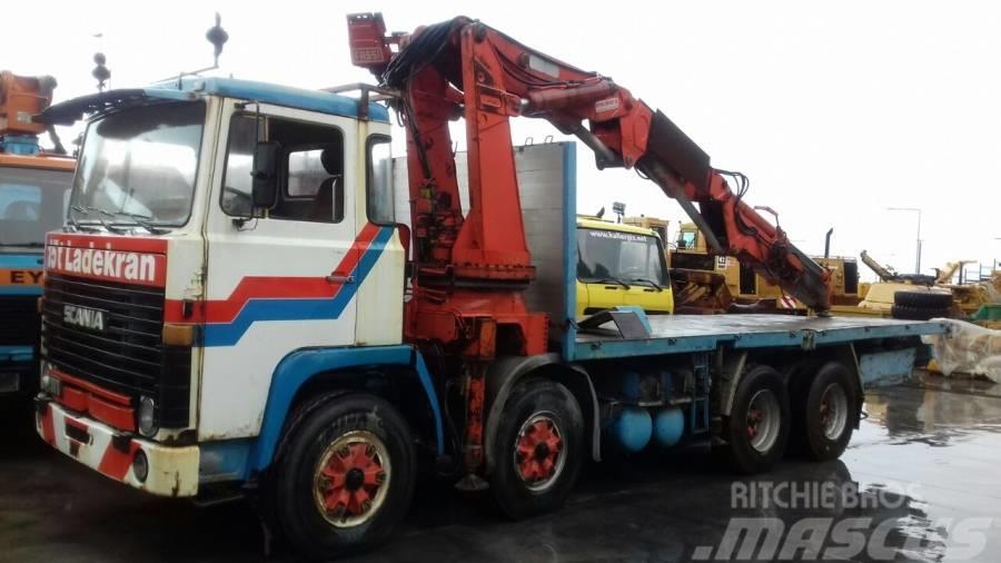 Scania LBT 111 FBS 46(8x4) ME ΓΕΡΑΝΟ FASSI