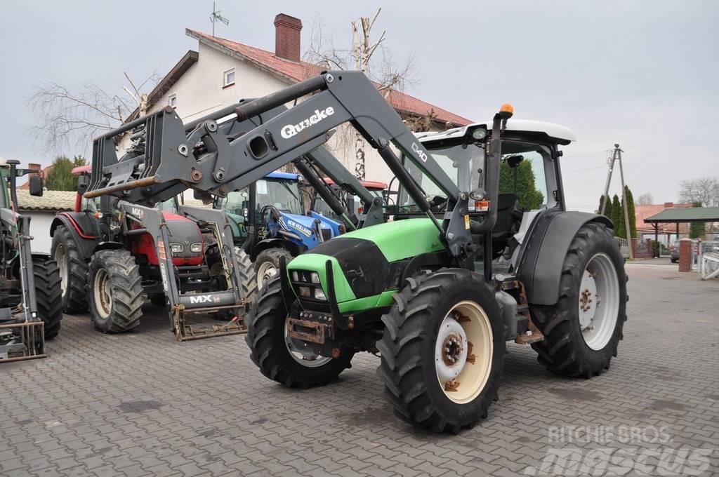 Deutz-Fahr AGROFARM 420 + QUICKE Q40