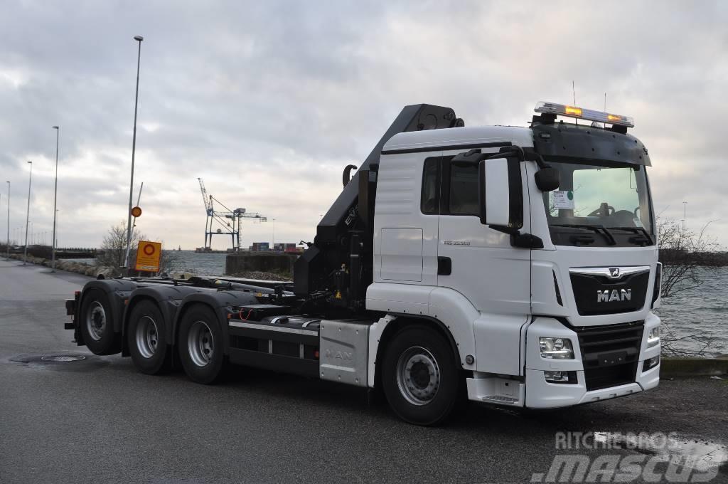MAN TGS 35.500.8x4-4 kran lastväxlare