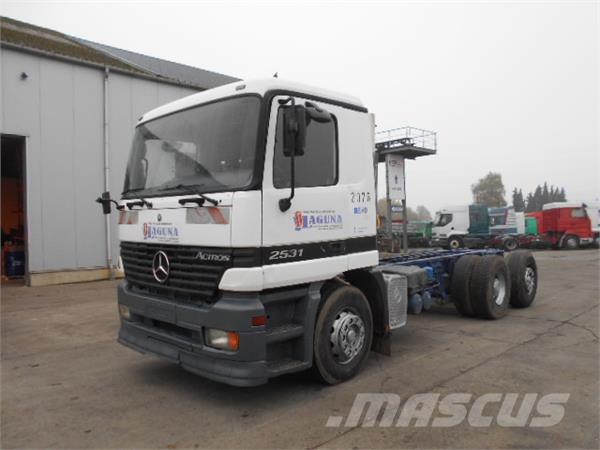 Mercedes-Benz Actros 2531 (BIG AXLE / STEEL / 6X2)
