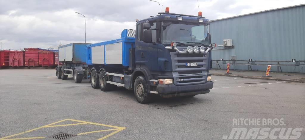 Scania R500B6X4HNA Kassettekigage