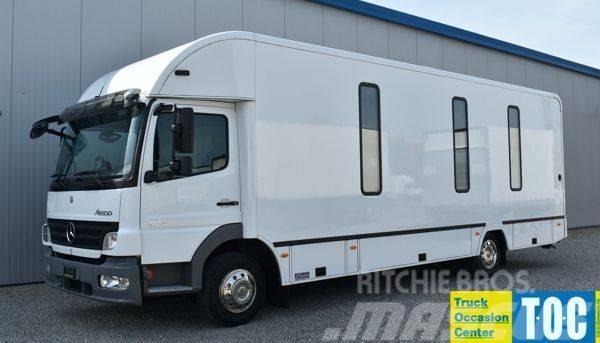 Mercedes-Benz Atego 924 mobile Bank Wohnmobil Verkaufswagen