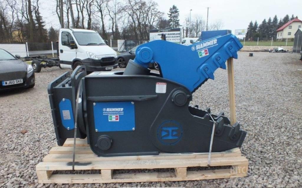 Hammer FR 12 Hydraulic Rotating Pulveriser Crusher 1450KG
