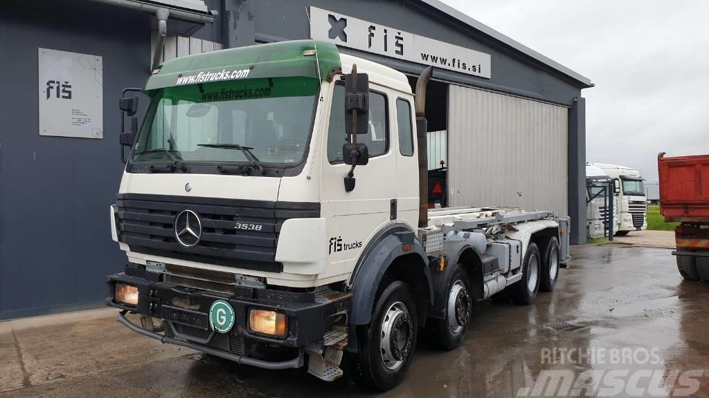 Mercedes-Benz SK 3538 K 8x4 ABROLL TIPPER - 4.5m