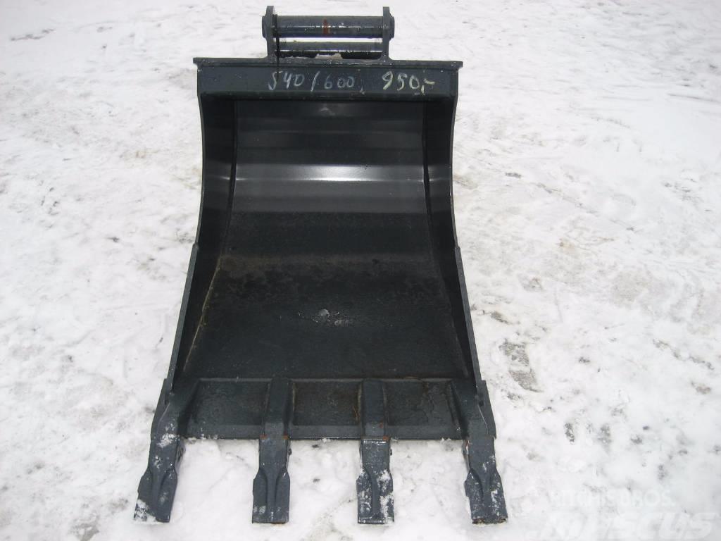 [Other] Kuokkakauha 600mm Stark Kynsillä S40 3-6tn koneet