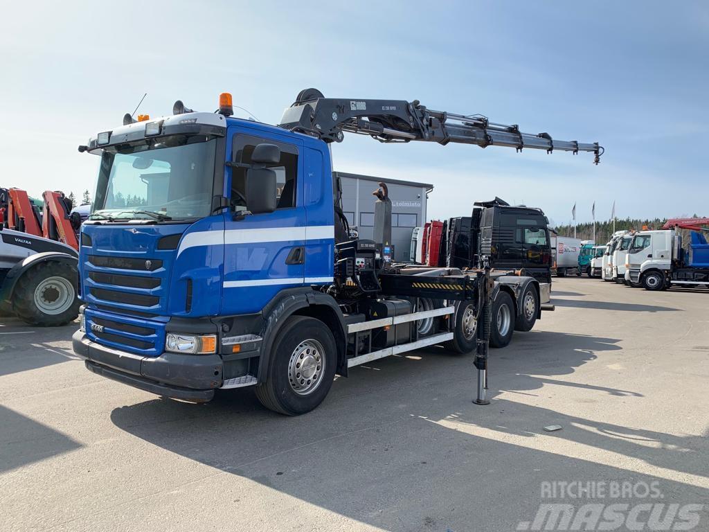 Scania G440 8x2