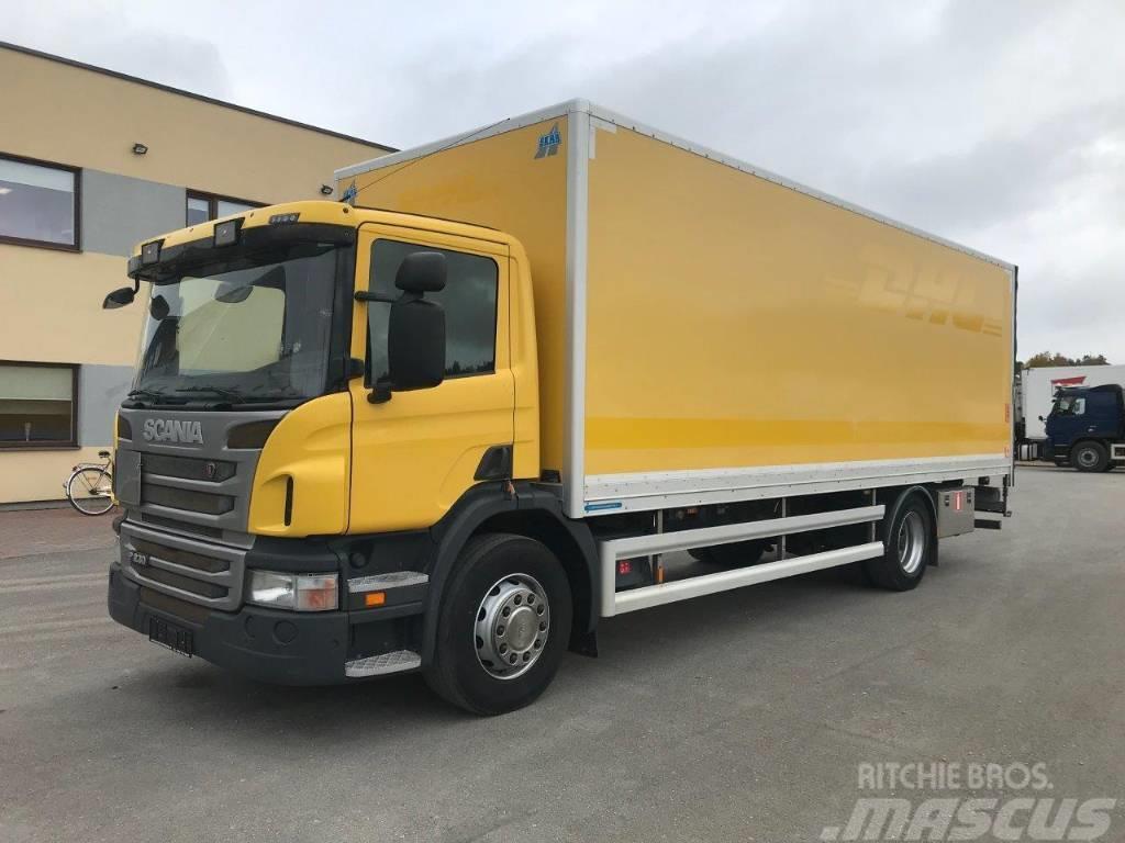 Scania P230 4X2 + LIFT + EURO5