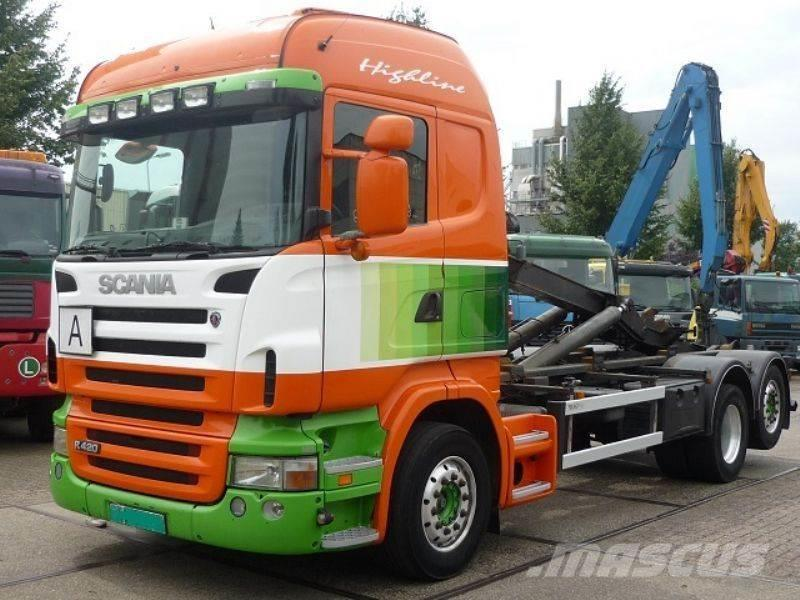 Scania R 420 6x2 Highliner Hooklift