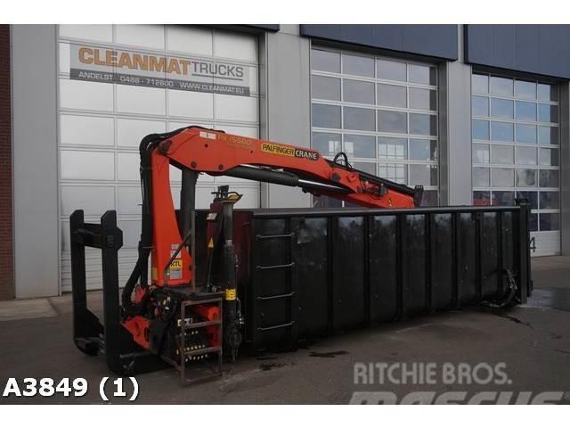 [Other] Container 18m3 + Palfinger 15 ton/meter Kran