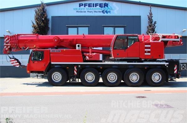 Liebherr LTM1095-5.1 10x6x10 Drive, 95t Cap, 58 m Boom, 19