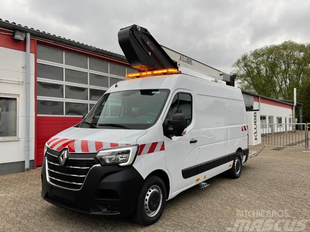 Renault Master 145dCi Furgon Hubarbeitsbühne KLUBB K42P 15