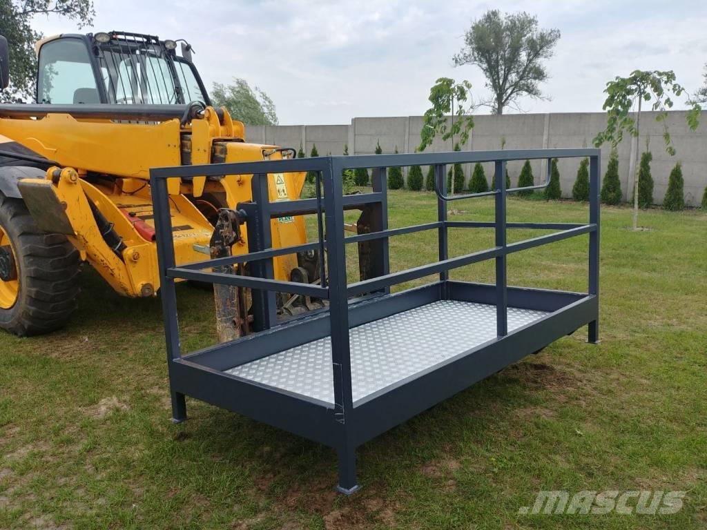 [Other] Manbasket for JCB Merlo Manitou telehandler