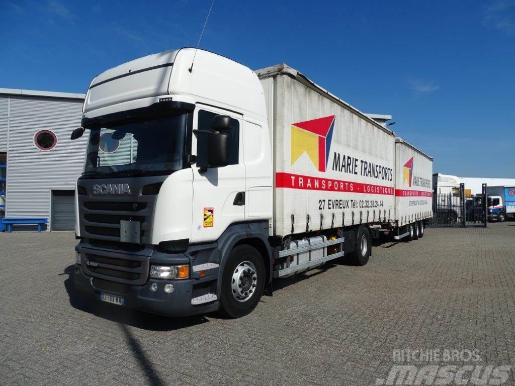 Scania R450 / AUTOMATIC / RETARDER / COMBINATION / EURO-6