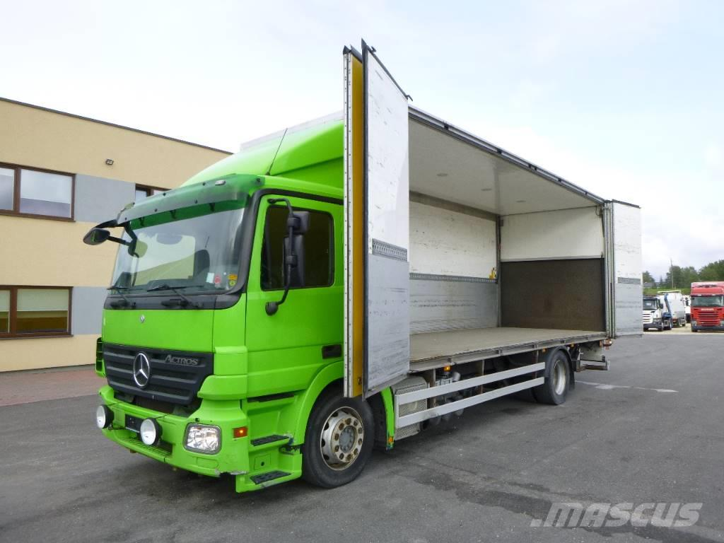 Mercedes-Benz Actros 1832 4x2+SIDE OPENING+EURO5