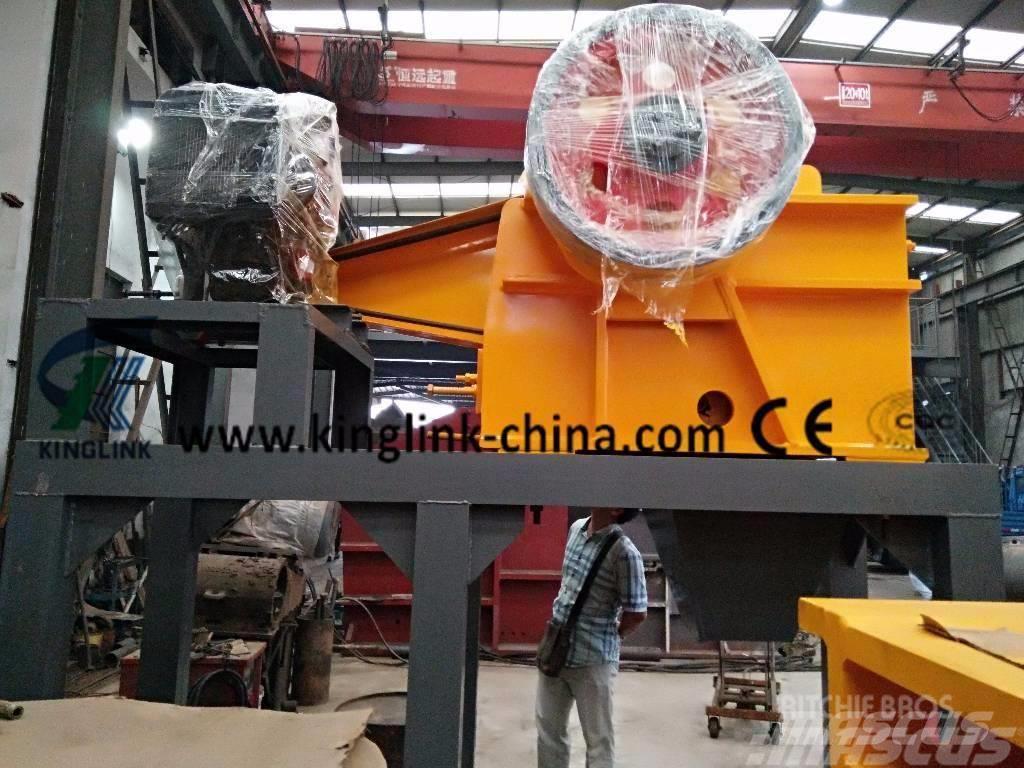 Kinglink Diesel Jaw Crusher PE-250x750 for Stone Crushing