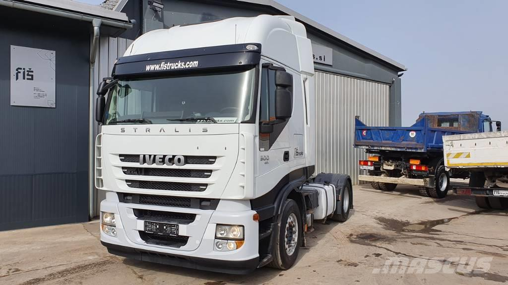 Iveco STRALIS AS440S50T 4X2 tractor unit - EEV - tipp. h