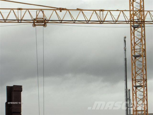 Tower crane notification : Used liebherr hc tower cranes year for sale