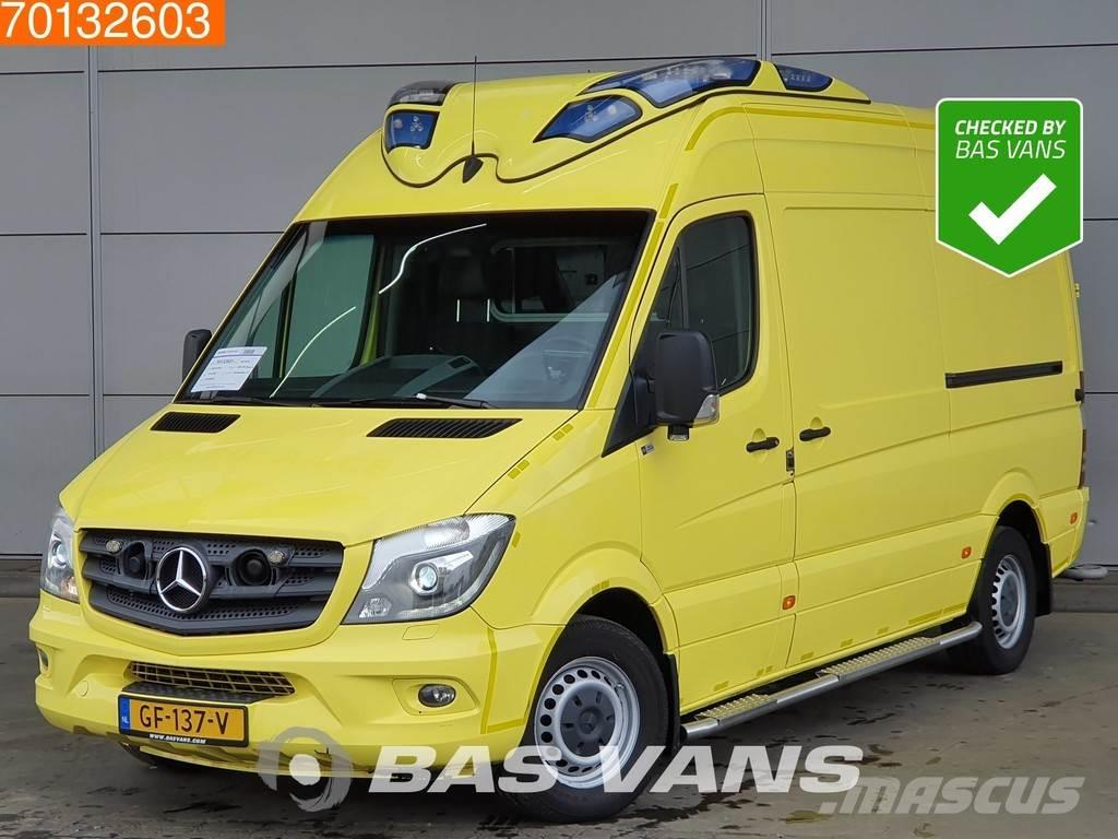 Mercedes-Benz Sprinter 319 CDI V6 Fully equipped Dutch Ambulance