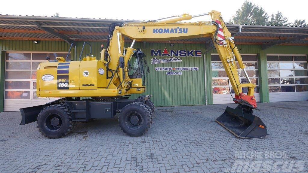 Komatsu PW 160-10 MB501728