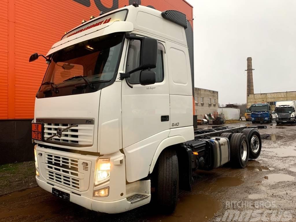 Volvo FM 540 ADR PTO 9T front axle