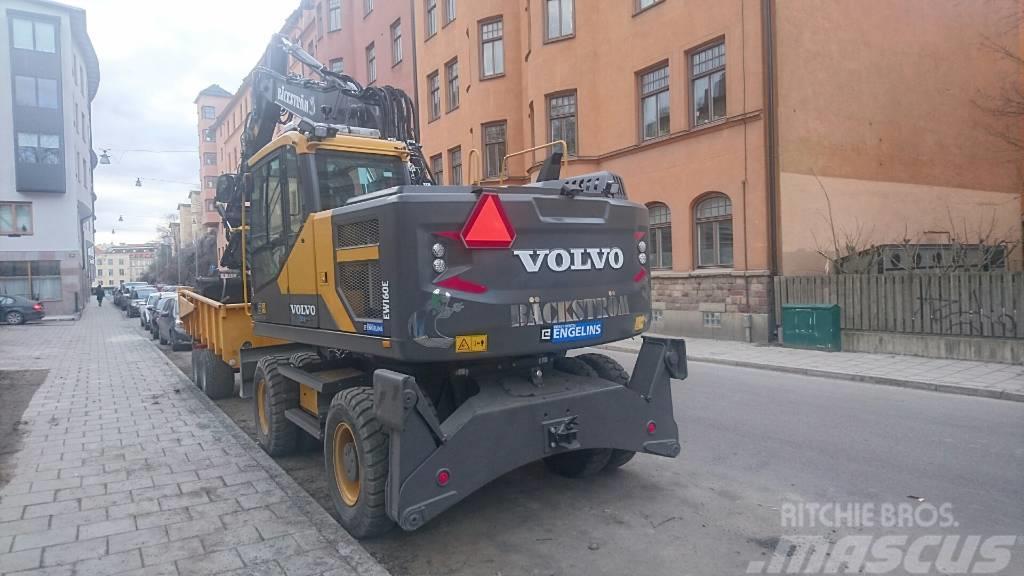 Volvo EW 160 EL, UTHYRES